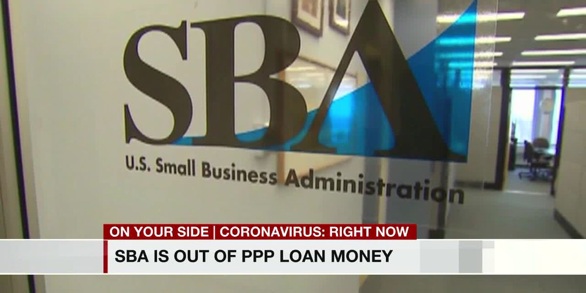 SBA out of PPP loan money