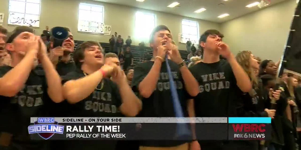 SIDELINE 2018 Week 8: Pep Rally of the Week