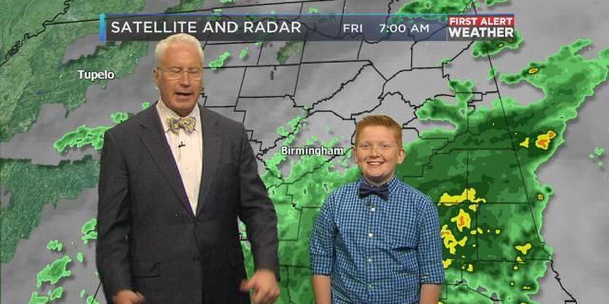 Mickey's Weather Kids: Connor Johnson