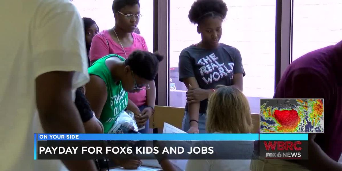 Payday for FOX6 Kids and Jobs