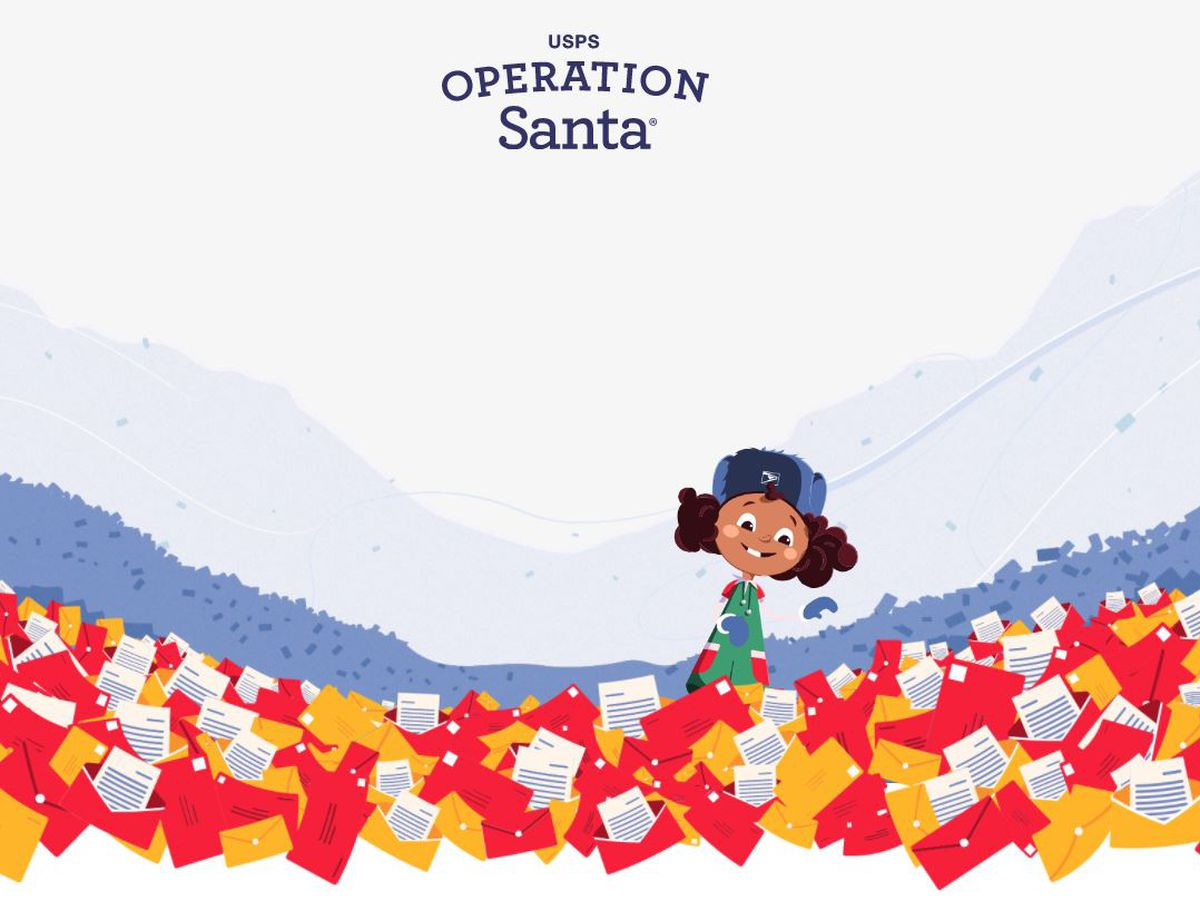 Write Your Letters: USPS Operation Santa is live!
