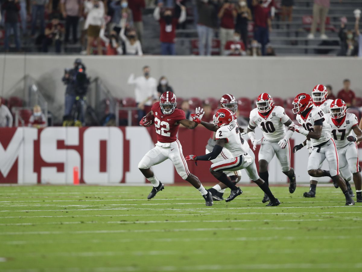 Alabama outlasts Georgia; Wins 41-24