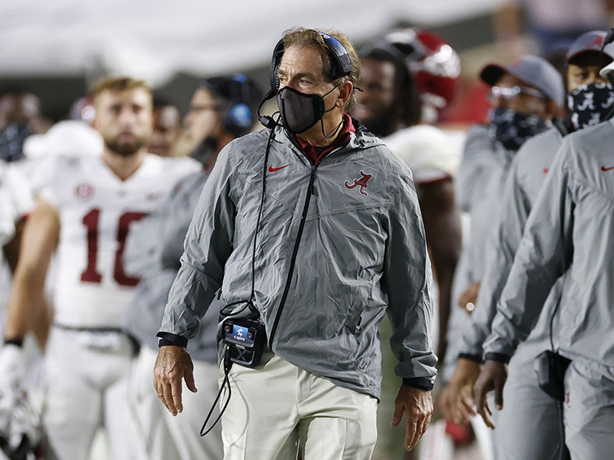 Alabama at LSU game postponed because of COVID-19