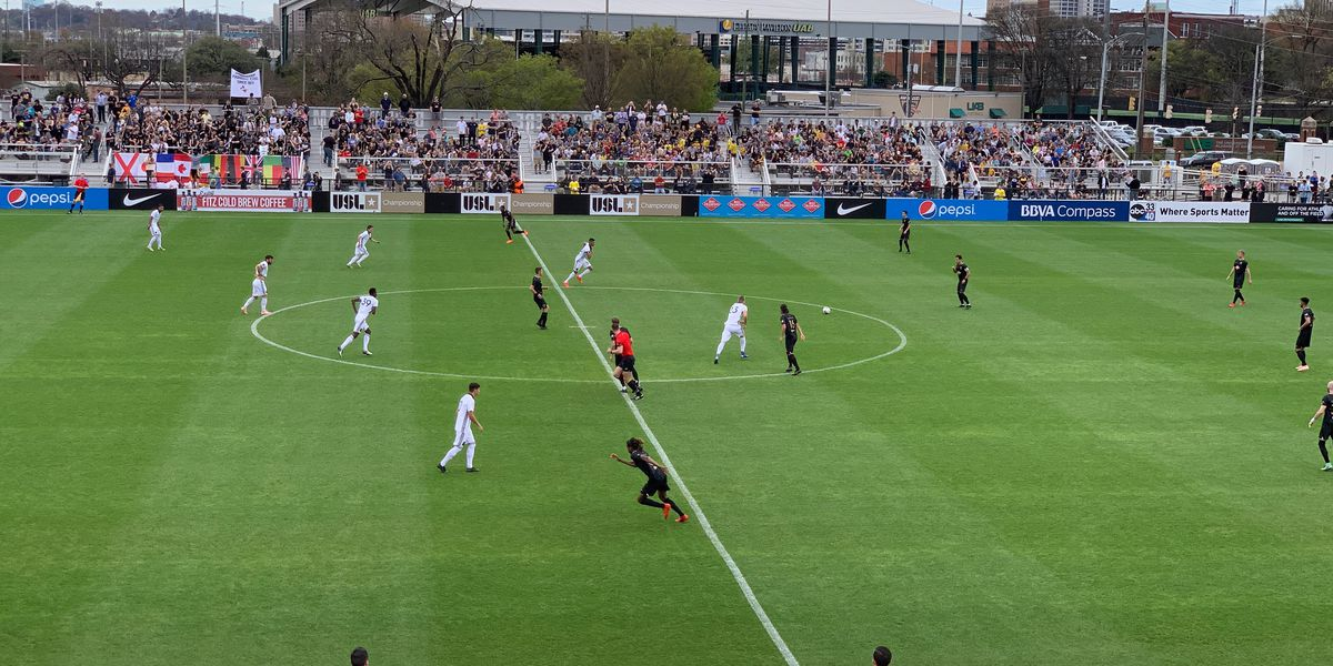 Legion FC debuts in front of sellout crowd