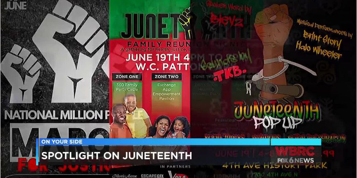 Picnics, food trucks, BBQ's: Where to celebrate Juneteenth in B'ham