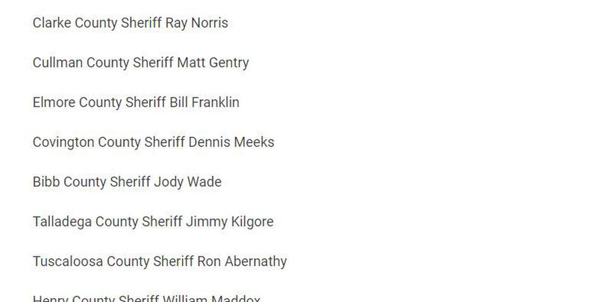 2 AL sheriffsrefute Roy Moore campaign's endorsement claims