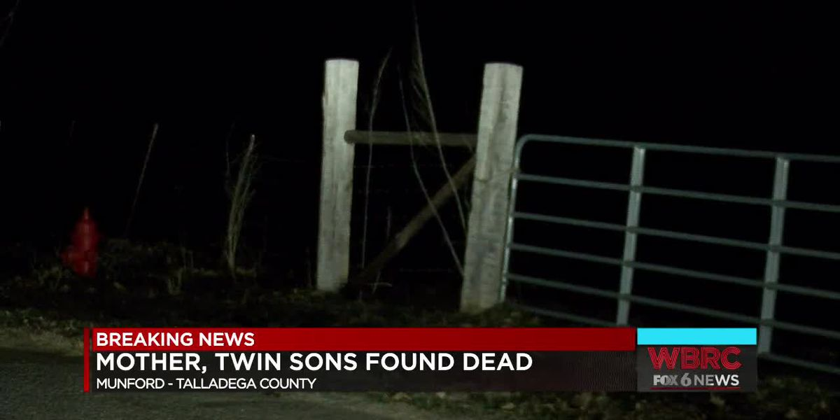 Mother and twin sons found dead in Munford