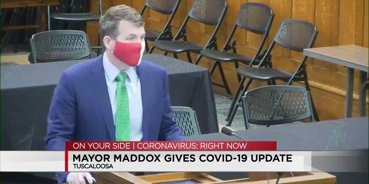 Tuscaloosa Mayor updates local coronavirus trends
