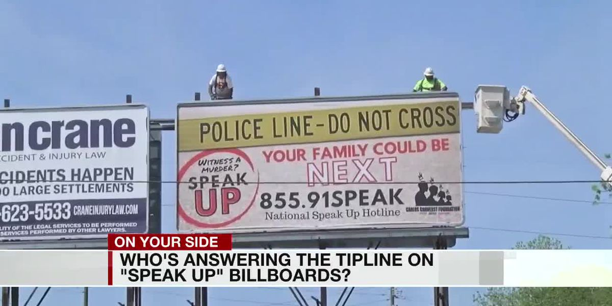 Billboard offers new hotline, Crimestoppers also available for homicide tips