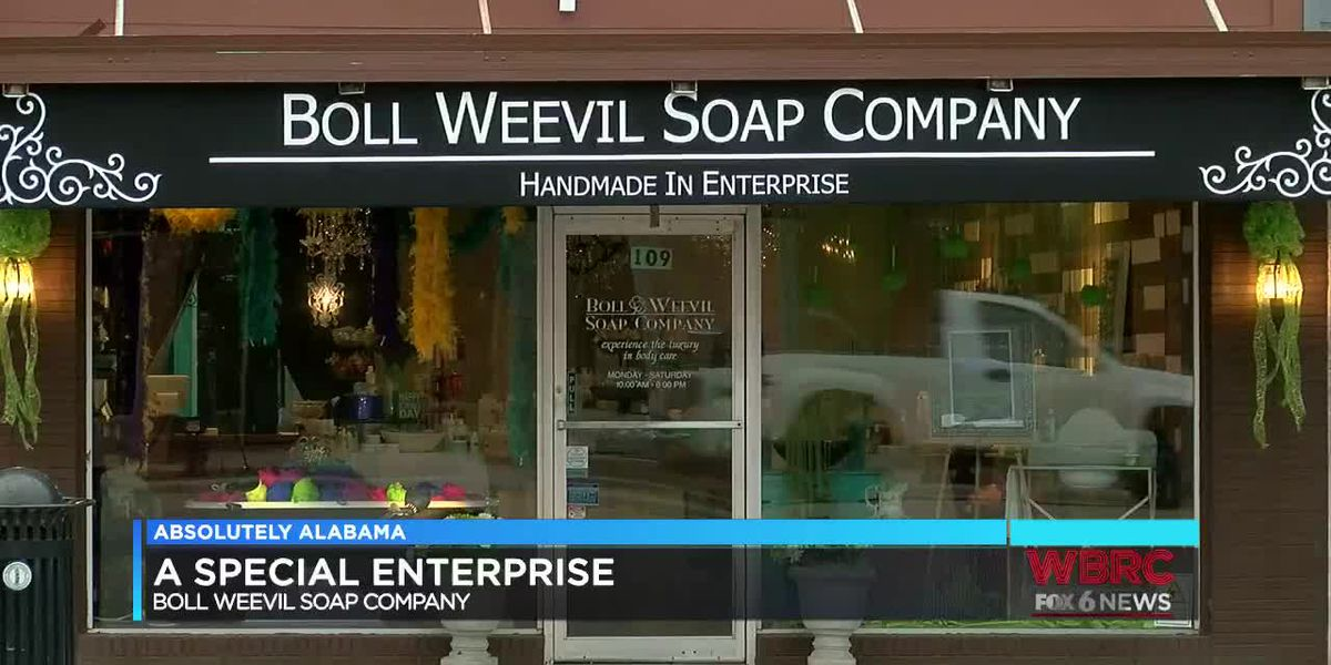 A special Enterprise: Boll Weevil Soap Company