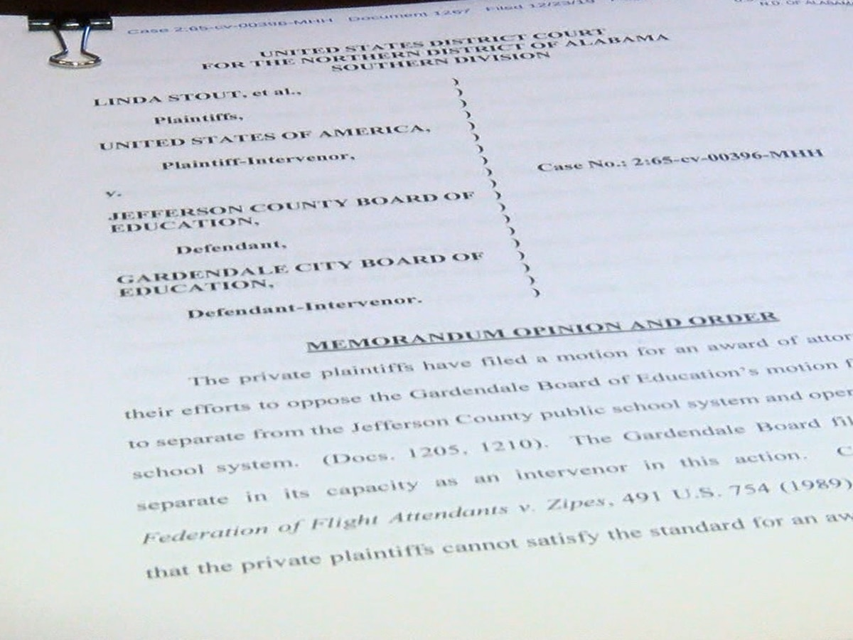 Legal fees could hurt Gardendale schools