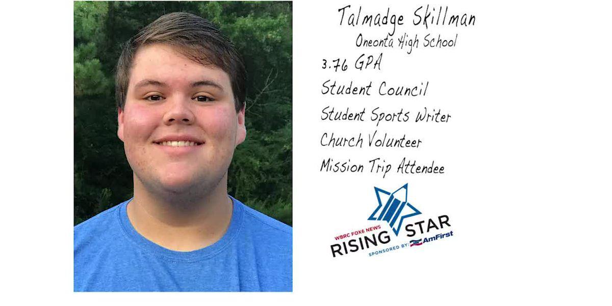 Rising Star: Talmadge Skillman