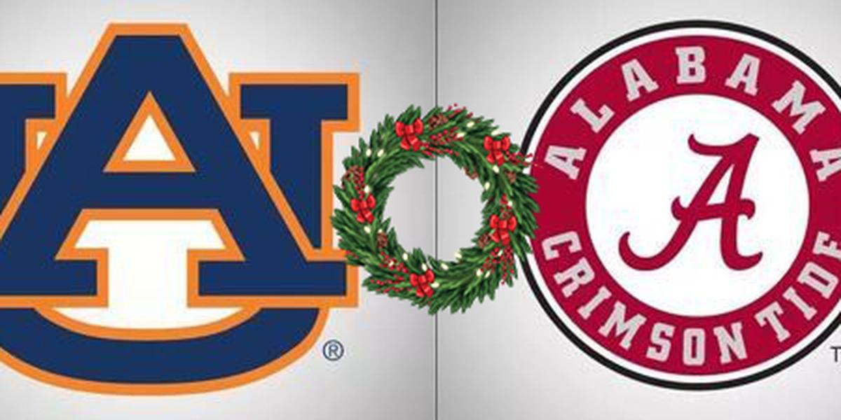 Auburn wish you a Merry Christmas