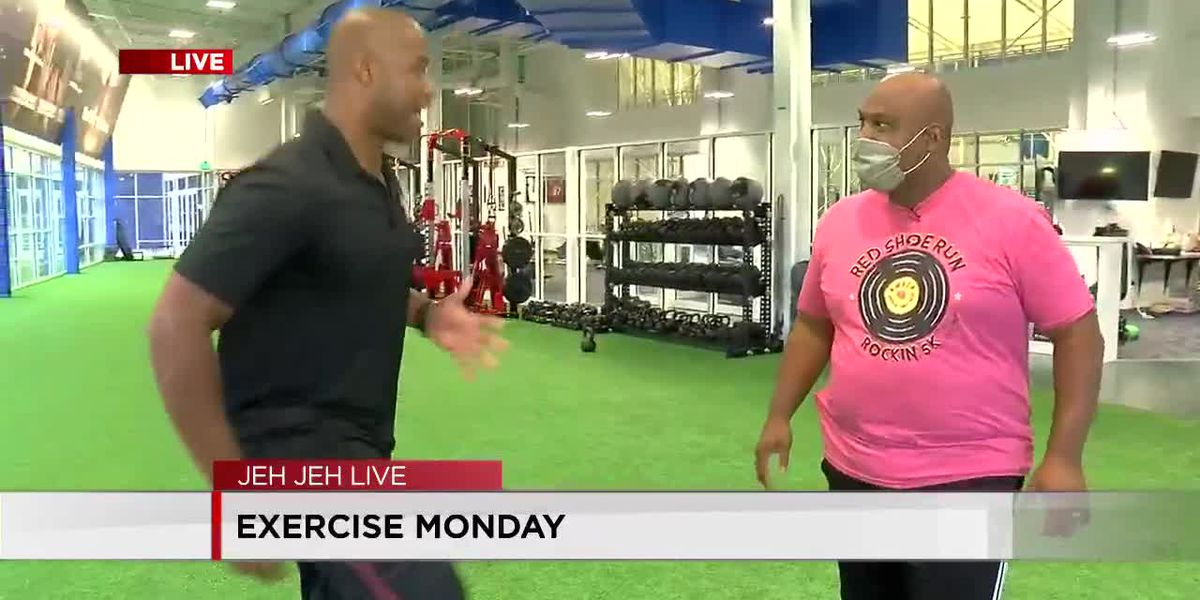 Exercise Monday at D1 fitness