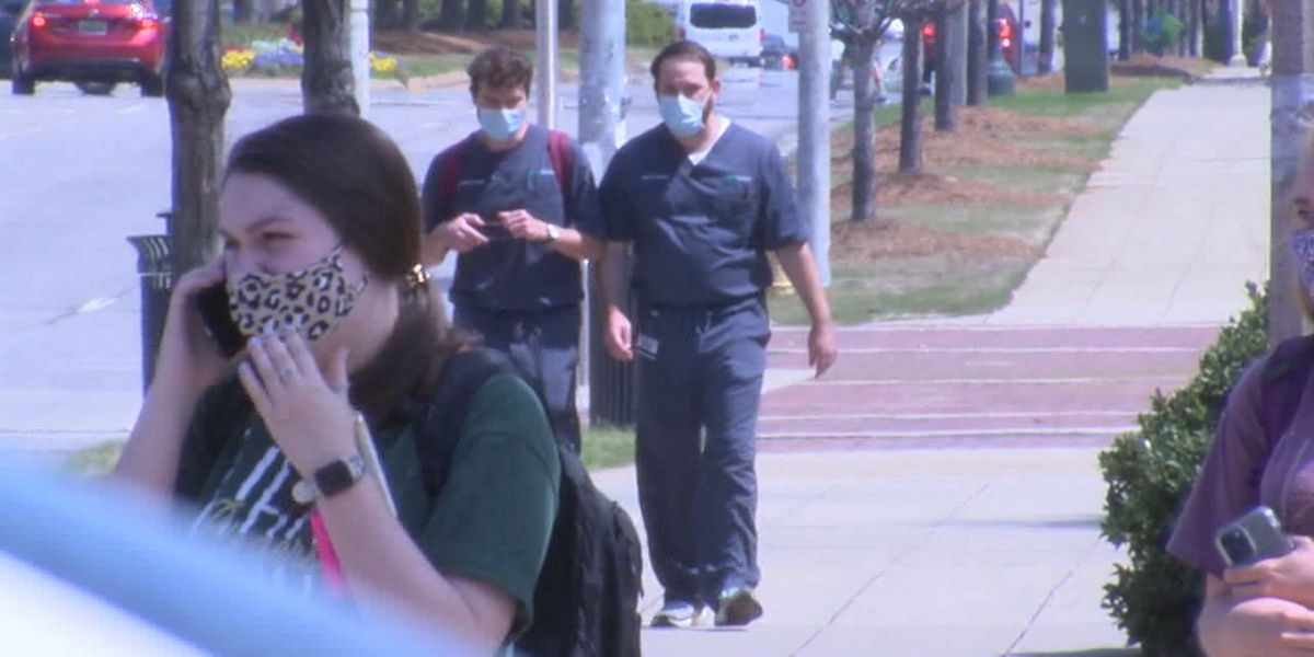 "UAB's Dr. Saag calls new CDC guidance on masks ""liberating"""