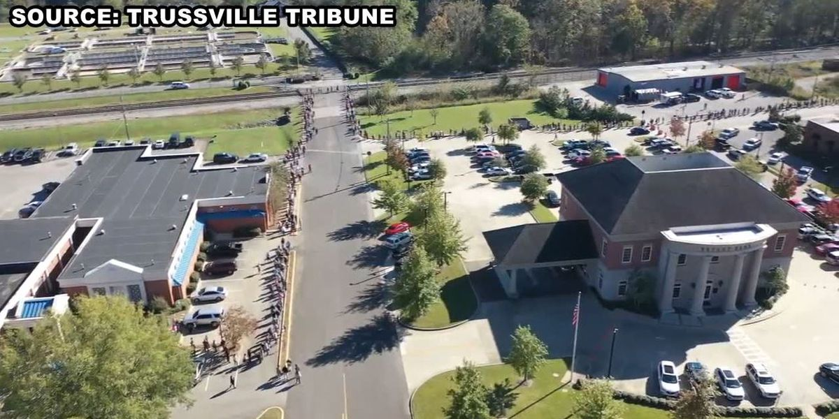 Trussville voter talks about long lines and solutions