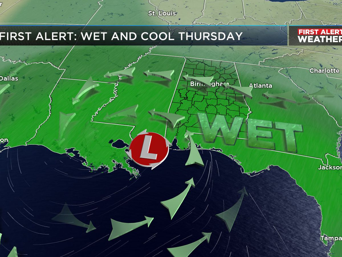 First Alert Weather: One more dry day and then a rainy setup