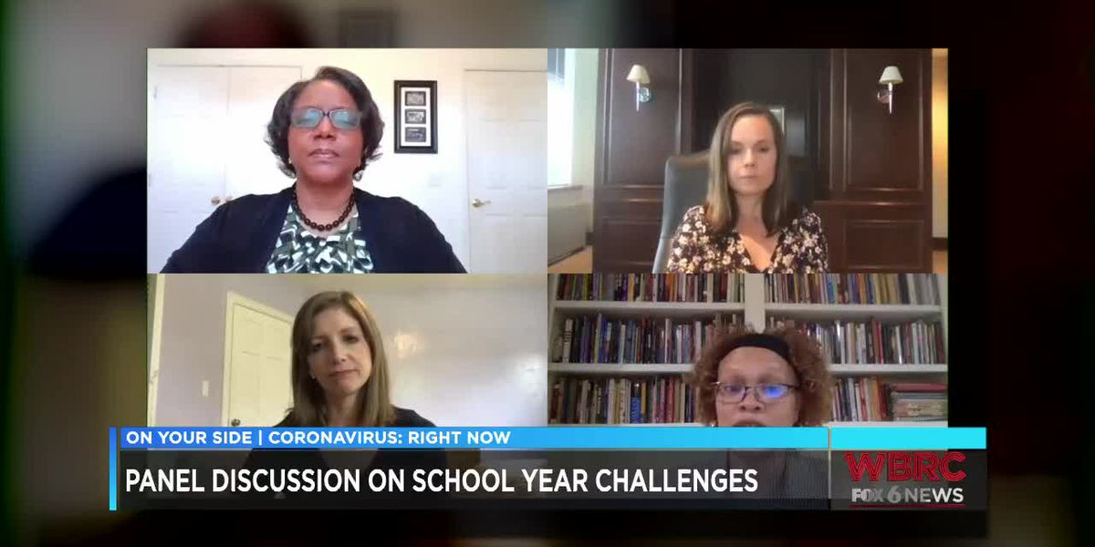 Panel discussion on school year challenges