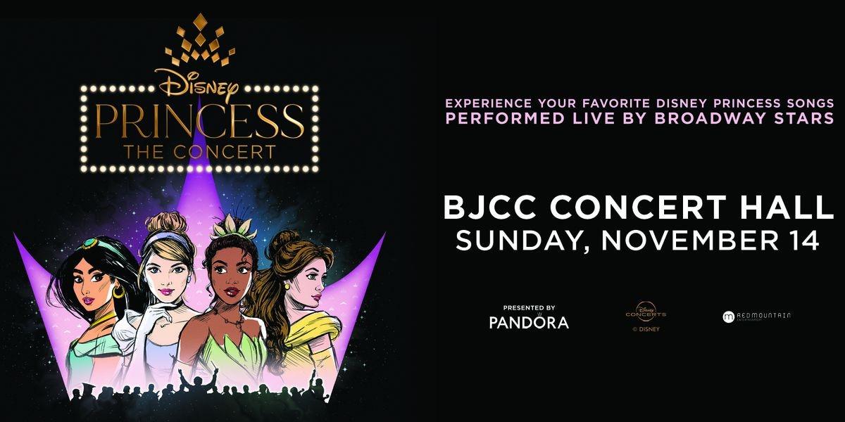 Disney Princess - The Concert coming to BJCC