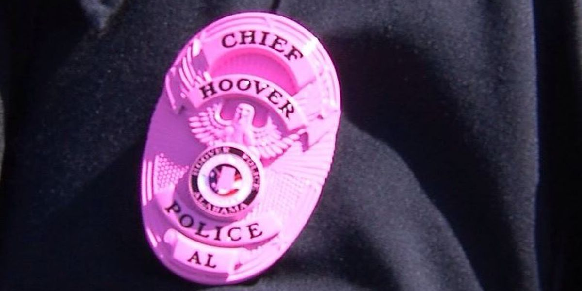 Hoover Police go pink for breast cancer awareness