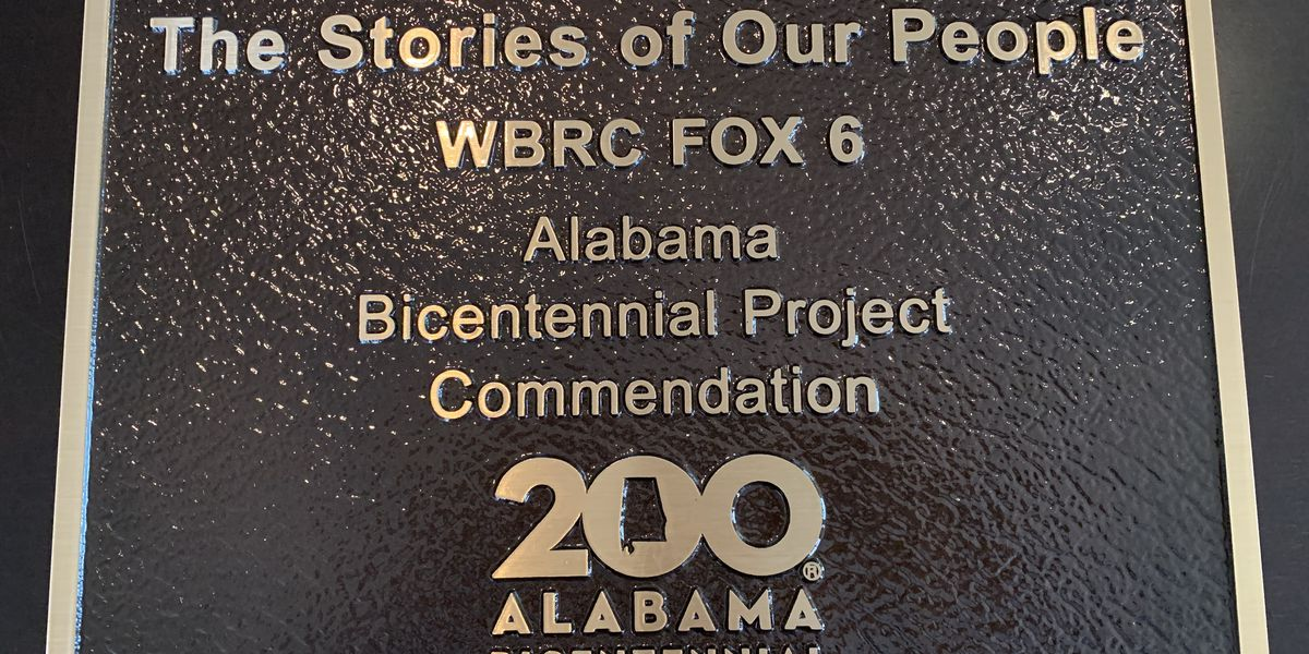 WBRC FOX6 News receives Bicentennial Legacy Award