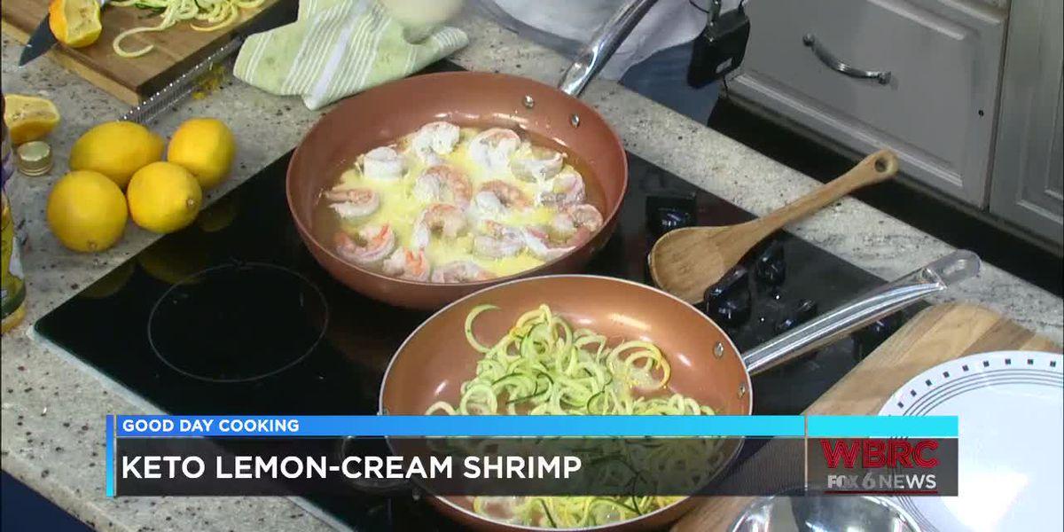 James K. Jones: Keto Lemon-Cream Shrimp
