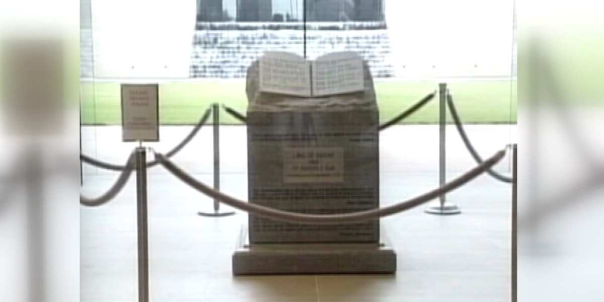 Amendment One: Displaying Ten Commandments and religious freedom