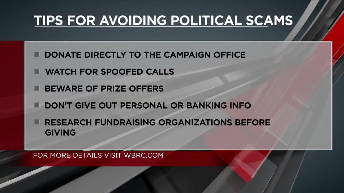 Looking at political phone call scams