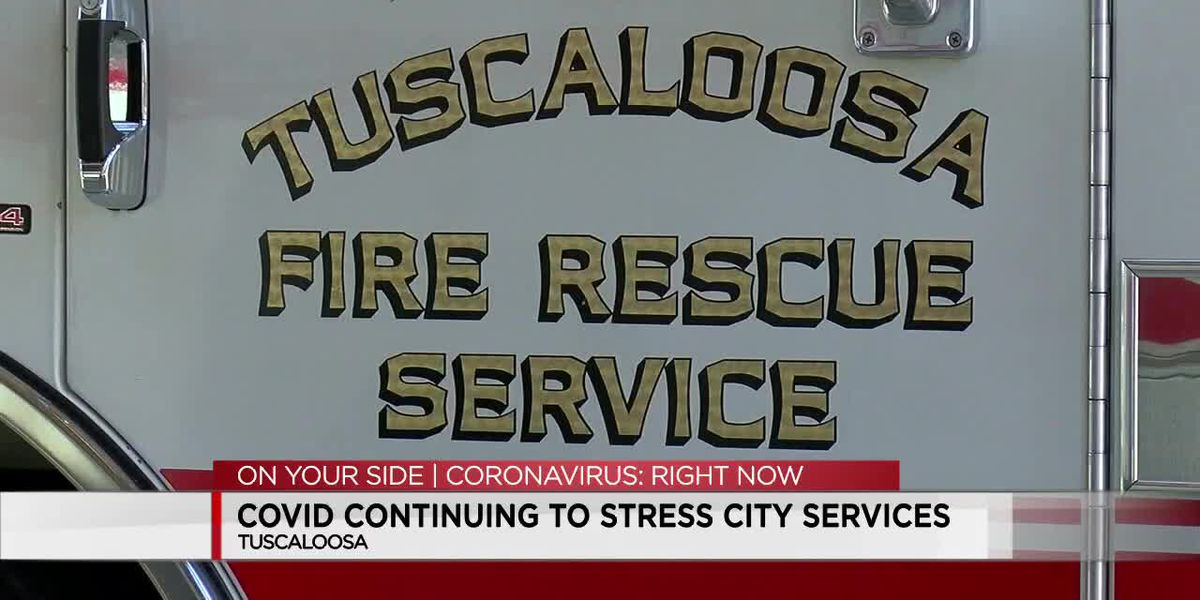 COVID continuing to stress Tuscaloosa city services