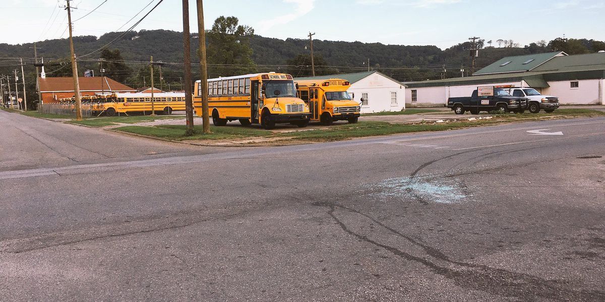 6 arrested after Anniston school bus caught in shootout, no students on board