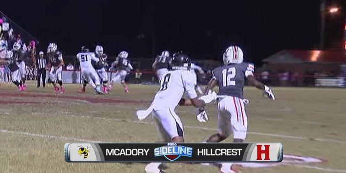 Sideline Sheldon's Game of the Week: McAdory at Hillcrest