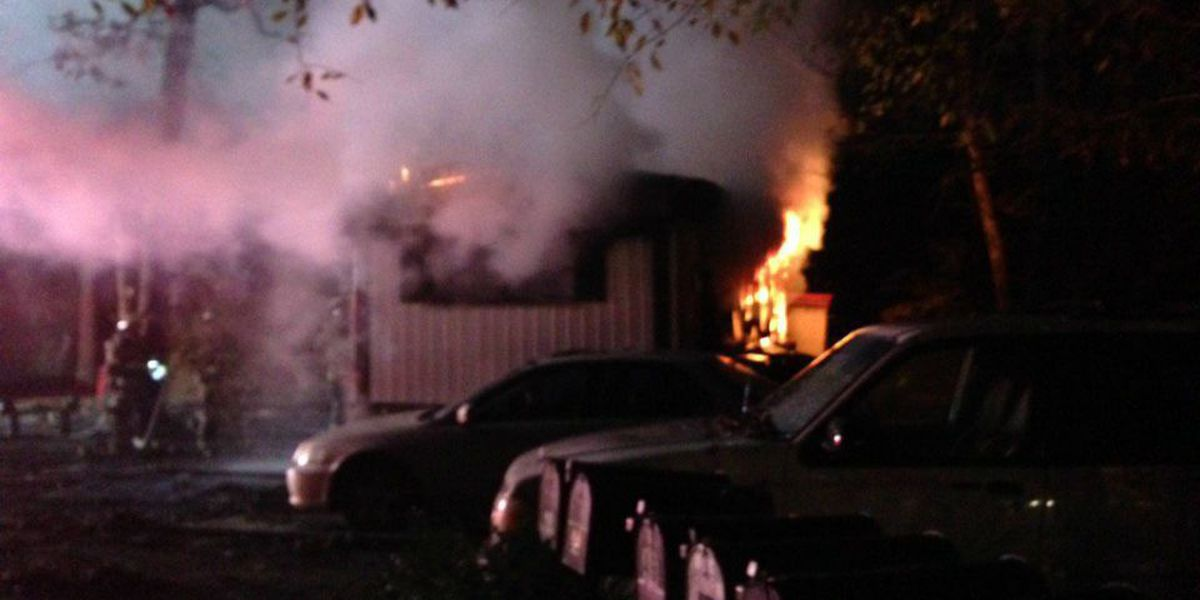 Fire destroys Cottondale mobile home; Terri Brewer has more at 7 a.m.