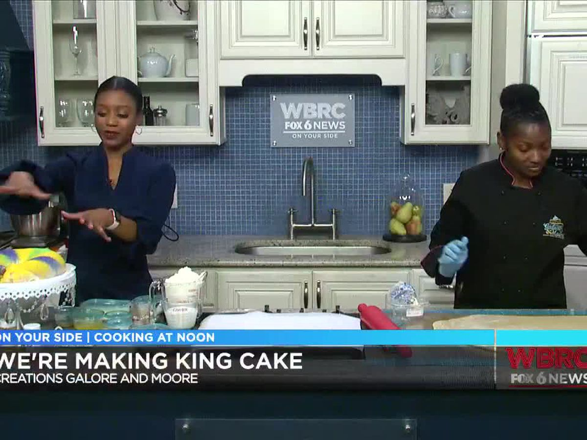 Creations Galore and Moore: King Cake