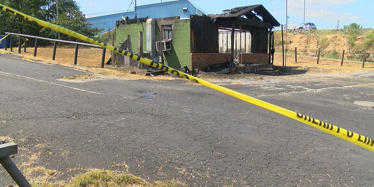 Suspected arson at new Walker County Sheriff's office substation in Parrish