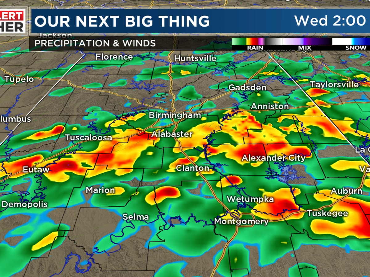 FIRST ALERT: More rain overnight and rumbles of thunder