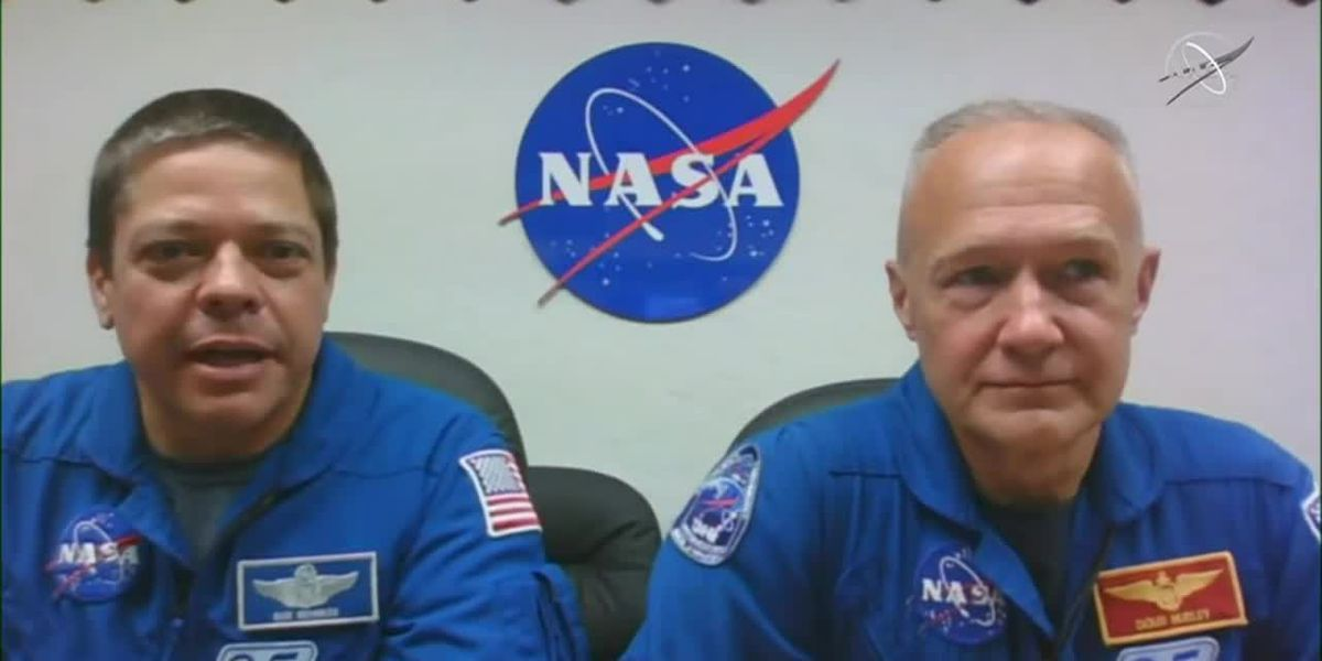 NASA astronauts set to launch in first ever manned mission for SpaceX