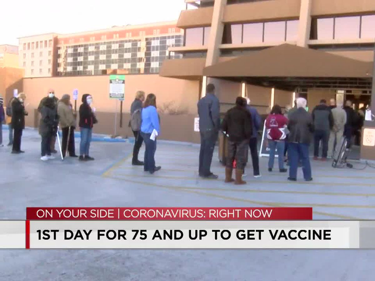 Folks 75 and up now able to receive COVID vaccine in Jefferson County