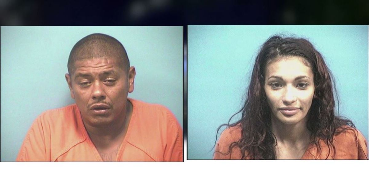 Calera police arrest two people for cocaine trafficking arrest off I-65