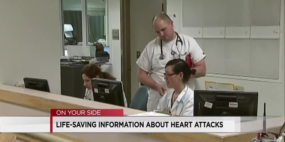 Life-saving information about heart attacks