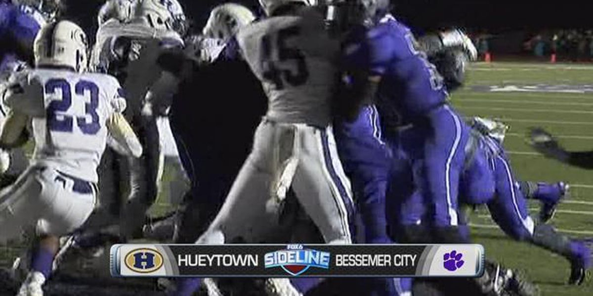 Sideline Sheldon's Game of the Week: Hueytown vs. Bessemer City