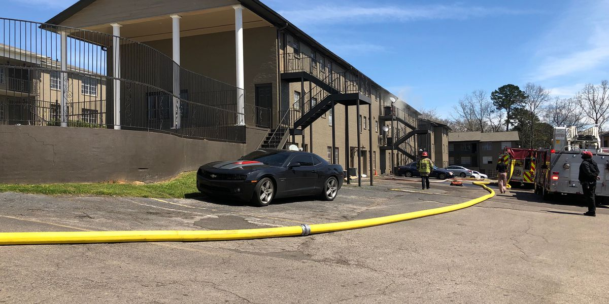 21 people displaced after Center Point apartment fire