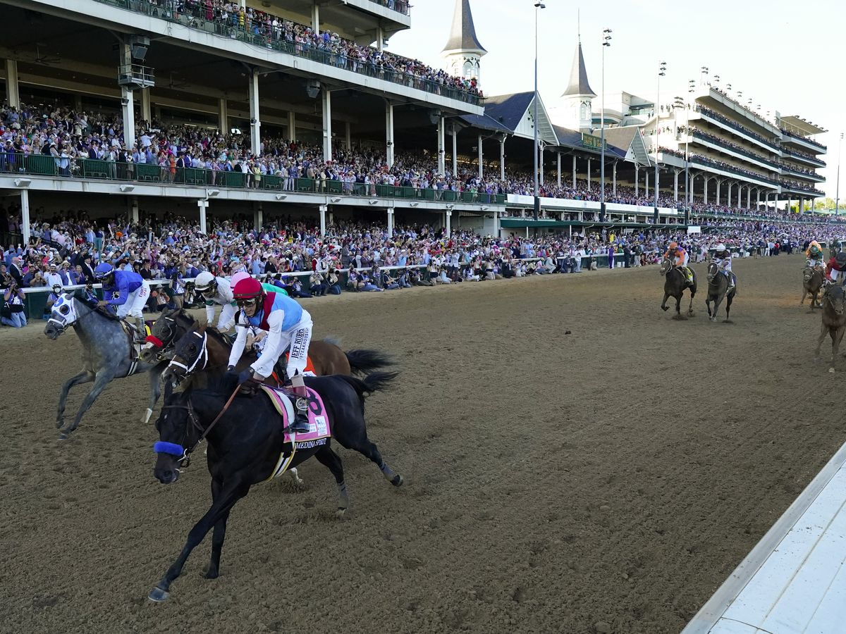 Medina Spirit could lose Ky. Derby win; track bans Baffert