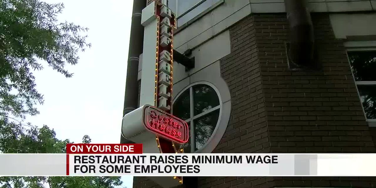 Restaurant raises minimum wage for some employees