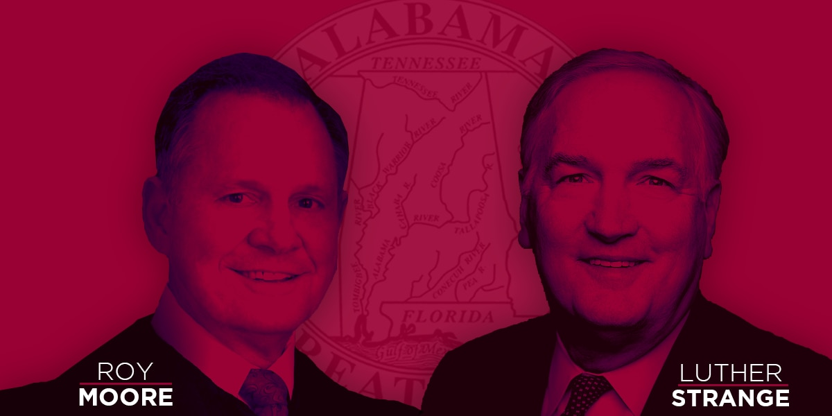 Exclusive: New poll finds Strange and Moore in statistical tie for GOP Senate race