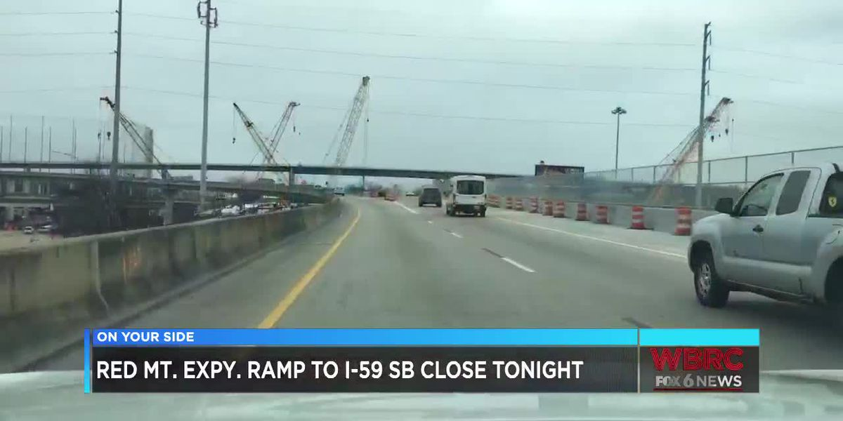I-59/20 shutting down Friday night