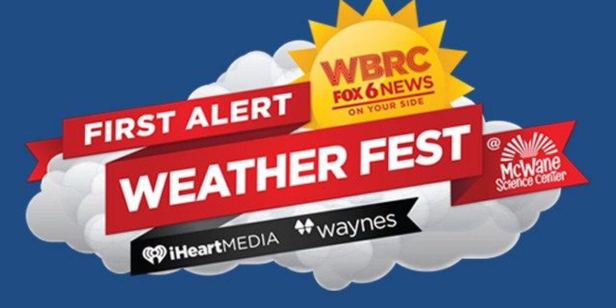 WBRC First Alert Weather Fest at McWane Science Center on April 29