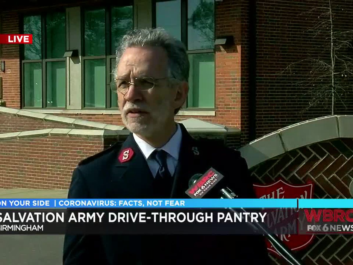 Salvation Army opens drive-through pantry in Birmingham