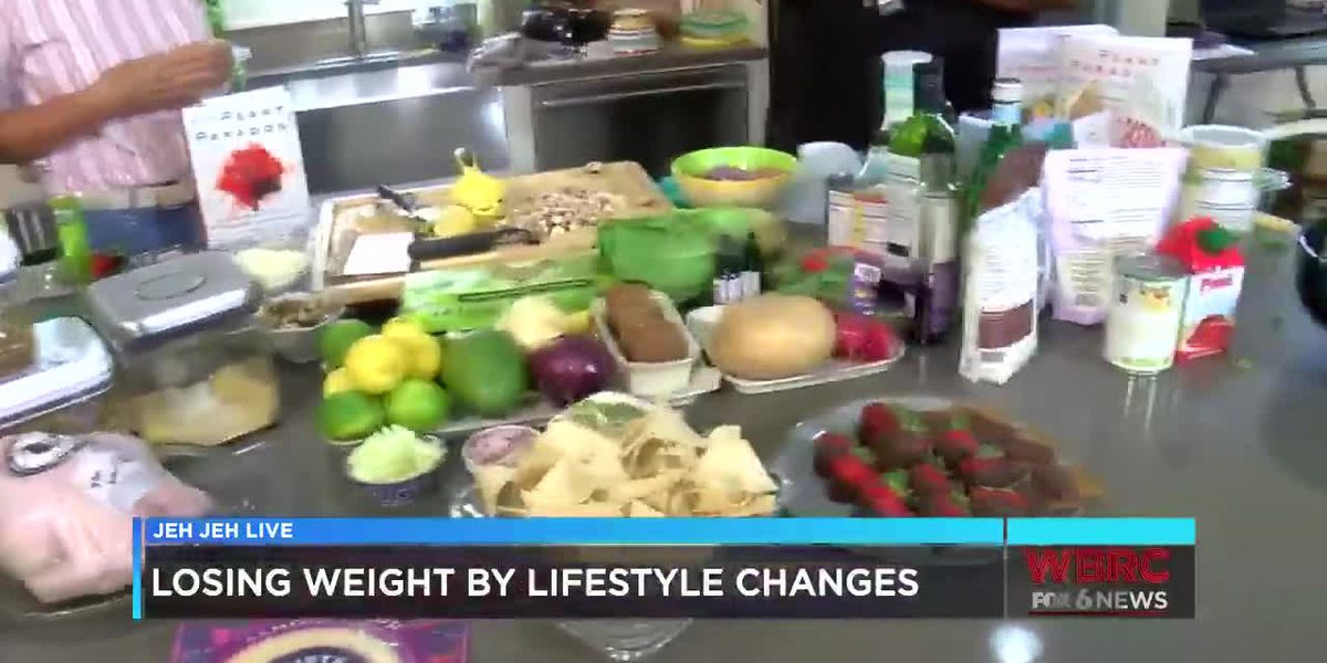 Losing weight by lifestyle changes