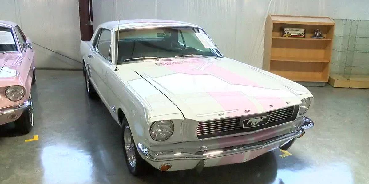 The Mustang muscle car lives on in Odenville, Alabama