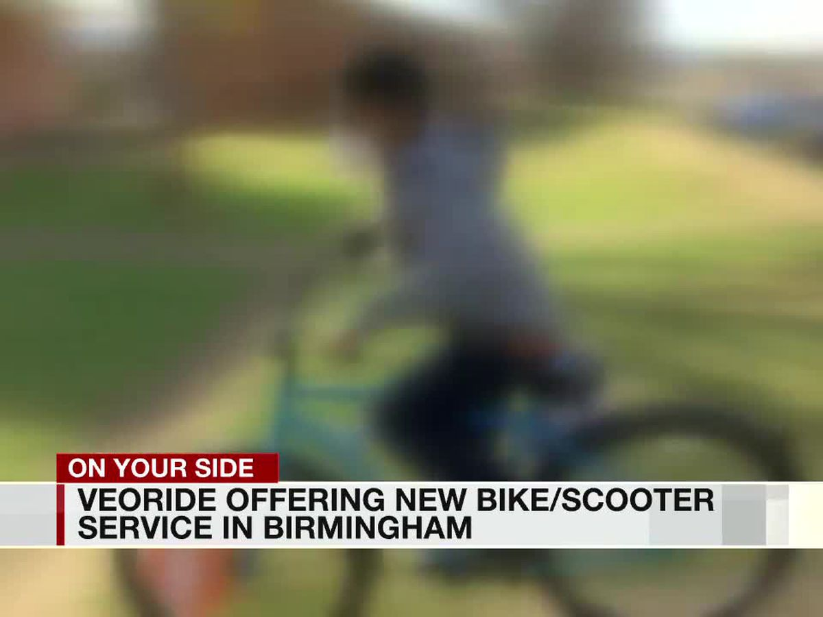 VeoRide offering new bike/scooter service in Birmingham